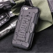 Удароустойчив Калъф Броня Hard Shell Stand Case За IPhone 4-4s