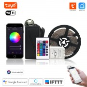 Inteligentný WiFi RGB LED pás - 5m ovládanie cez Tuya Smart Life
