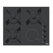 Plita Franke KS FHX 604 3G 1C BK C Glass Black
