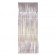 Merkloos Transparante versiering deur gordijn