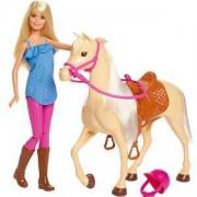 Кукла Barbie - Комплект кукла с кон, 1710115