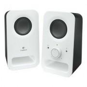 Logitech Głośniki LOGITECH Multimedia Speakers Z150 Czarno-biały