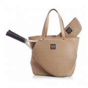 Court Couture Savanna Perforated Taupe