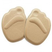Foot Care Sponge 4D Forefoot Front Pad Half Insoles Anti Slip Cushion Pads Memory Foam Shoe Insoles Heel Cushions For Sh