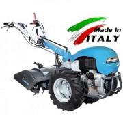 Motocultor Bertolini 418S motor Lombardini Diesel 19 cp , freza de pamant 90 cm , roti pneumatice 6.50x12 '', ecartament reglabil