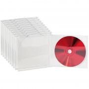 Pearl CD Jewel Boxen im 10er-Set, klares Tray