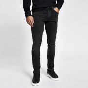 River Island Mens Black faded Dylan slim fit jeans (42R)