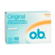 Absorvente Interno O.b. Original Super Com 10 Unidades
