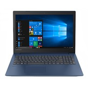 Lenovo IdeaPad 330-15 series Midnight Blue Notebook - Intel Core i3 Kaby Lake Dual Core i3-8130U 2.2Ghz with Turbo Boost up to 3.4Ghz 4MB L3 Cache Processor