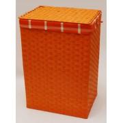 Koš na prádlo oranžový provázkový sada 3ks