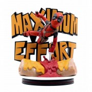 Marvel Q-Fig Max Statyett, Deadpool - Maximum effort