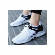 Zapatos Casual para Hombre-Blanco y Negro