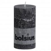 Bolsius Stompkaars rustiek 13x7 cm antraciet