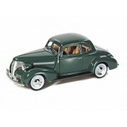 Motor Max 1939 Chevy Coupe, Green - Motormax 73247-1/24 Scale Diecast Model Toy Car