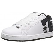 DC Men s Court Graffik SE Skate Shoe White Smooth 8.5 D(M) US