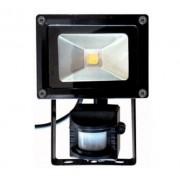 Elcart Superlight Proiettore Da Esterno 10w Ip44 Con Sensore Pir Di Movimento