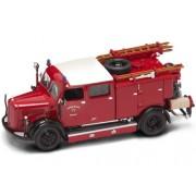 Yat Ming Scale 1:43-1950 Mercedes Benz TLF-50 Fire Engine
