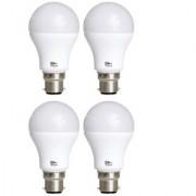 Alpha 9 Watt 700 - Lumens Premium Led Bulb (Pack of 4)