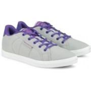 REEBOK On Court Iv Lp Canvas Shoes For Women(Purple, White, Grey)
