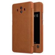 Huawei Mate 10 Nillkin Qin Smart View Flip Cover - Bruin