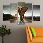 Декоративен панел за стена със слон Vivid Home