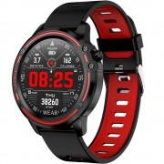 Ceas smartwatch Microwear L8, 1.2-inch Full Touchscreen, Bluetooth, ECG+PPG+SPO2, IP68