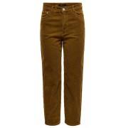 Only Pantaloni Donna OnlKelis, Taglia: 40, Per adulto Donna, Marrone, 15188535 TOST COC, IN SALDO!