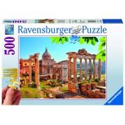 Ravensburger puzzle ruine italia, 500 piese