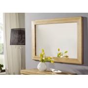 Miroir horizontal 100x70cm - Bois de chêne sauvage huilé (Bois naturel) - LINZ #11