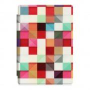 Shop4 - Microsoft Surface Pro 4 Hoes - Book Cover Gekleurde Vierkanten