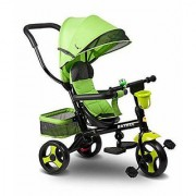 OH BABY Cycle Baby Pink TricycleWITH CYCLE COLOR GREEN SE-TC-81