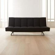Flex Black Sleeper Sofa by CB2