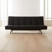 Flex Black Sleeper Sofa by CB2