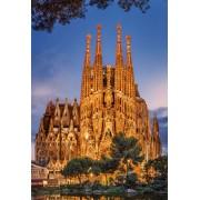 Puzzle Educa - Sagrada Familia, 1000 piese, include lipici puzzle (17097)