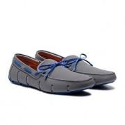 Swims Wet-Loafer, 45 - Grau/Blau