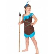 Vegaoo Indianer Kostüm braun für Mädchen