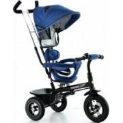 Tricicleta EURObaby cu scaun rotativ T306E - Albastru