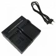 Ismartdigi Camara Digital Bateria Cargador Dual para Nikon S6100 - Negro