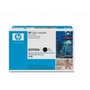 HP Q5950A BK (HP 643A) black Lasertoner, Original 11000 print