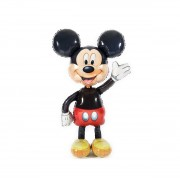 Balon folie metalizata marime naturala Mickey Mouse Airwalkers - inaltime 132 cm
