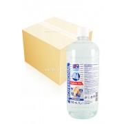 12 броя гел за дълбоко почистване на ръце 1 000мл 70% етилов спирт