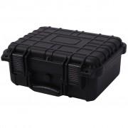 vidaXL Ochranný kufrík na náradie, 35x29.5x15 cm, čierny