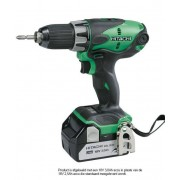 Hitachi Powertools Hitachi DS18DSL 18V schroefboormachine in systainer met 2 accu's