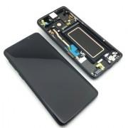 Ecran Display Samsung Galaxy S9 G960f Negru Reconditionat Burn mic
