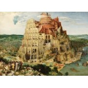 "Bits & Pieces 1000 Piece Puzzle 20"" X 27"" (1996) - Tower of Babel"