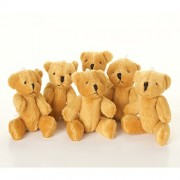 London Teddy Bears New - 5 X Little Brown Bear Cute and Cuddly Gift Present Birthday Xmas