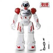 Glantop Remote Control RC Robots Interactive Walking Singing Dancing Smart Programmable Robotics for Kids Boys Girls (Red)
