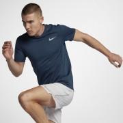 Haut de runningà manches courtes Nike Dri-FIT Miler Cool pour Homme - Bleu