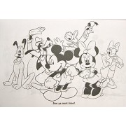 Disney Mickey and Friends Giant Coloring and Activity Book - 10.75' x 16'