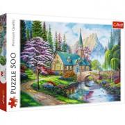 Puzzle Trefl Peisaj mirific, 500 piese